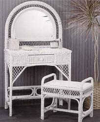 wicker furniture - vanity #4814