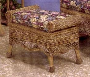 patio furniture - ottoman #6100-9
