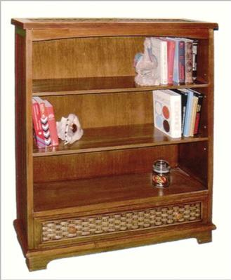 wicker furniture - bookshelf #4284D