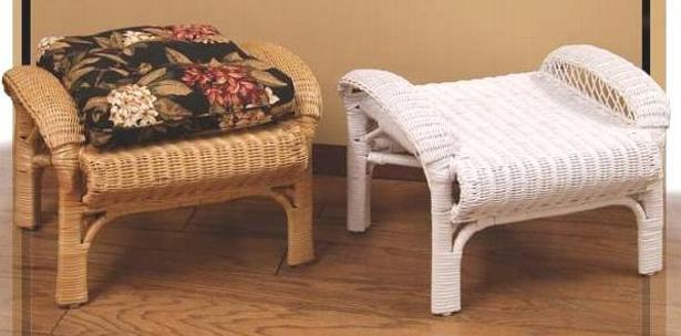 patio furniture - ottoman #4500