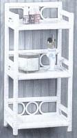 wicker furniture - wall shelf #4201