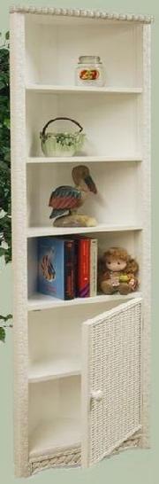 wicker corner cabinet #4774C