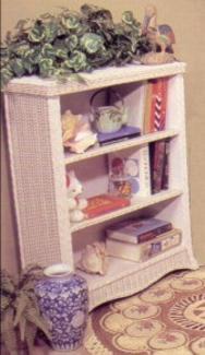 wicker furniture - shelf #4176