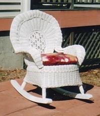 Childrens Wicker Furniture Childs Wicker Chair Kids Rocker