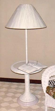 Wicker Floor Lamps White Standing Lamp