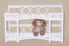wicker furniture - wall shelf #4942