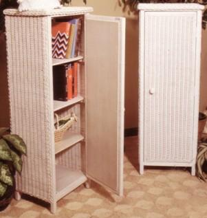wicker furniture - storage cabinet #4060