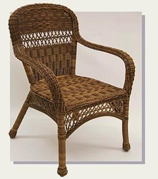Outdoor Wicker Patio Arm Chair #4178