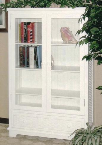 wicker furniture - bookcase #4284L