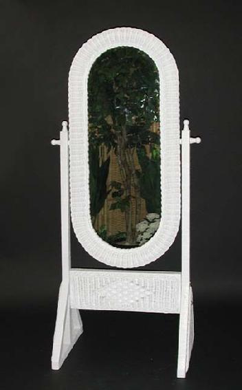 Wicker Wall Mirror Rattan Mirror