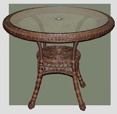 Good Outdoor Wicker Patio Table #4178