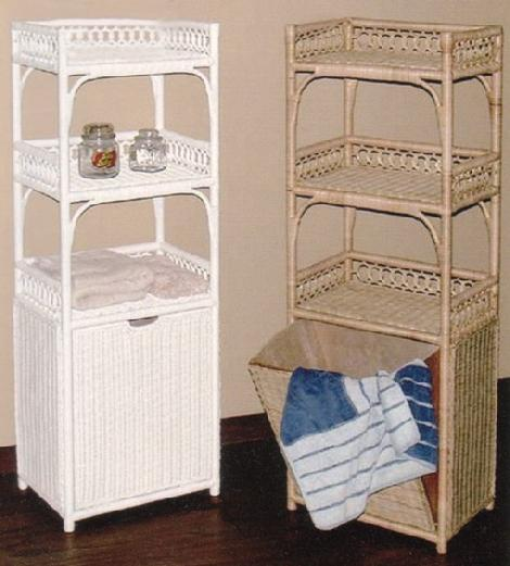 Wicker Clothes Hamper Tilt Out Laundry Hamper