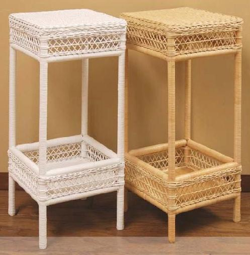 Wicker Plant Stand 4351