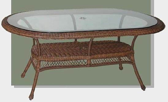 Elegant Oval Patio Table #4178