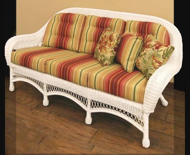 Wicker Sofa Cushion St Thomas Outdoor Wicker Sofa All