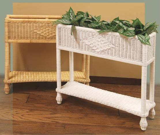 Beautiful Wicker Plant Stand Rattan Planters Gn71